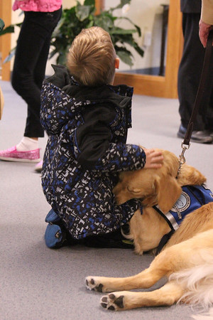2013-11-17 K9 Lila Passing of Leash at Beautiful Savior Lutheran Church - Mequon, WI