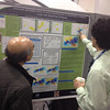RESESS 2013 intern Brian Chung at his poster resulting from RESESS research at AGU 2013.