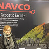 RESESS alumnus Theresa Carranza at the UNAVCO booth at AGU 2013.