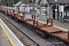 One of the Long Welded Rail wagons at Portlaoise. Fri 12.04.13
