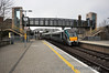 22062 arrives at Portarlington with the 1130 Galway - Heuston. Tues 09.04.13