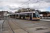 3014 arrives at Heuston Tram Stop. Sat 20.04.13