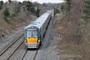 22037 passes Kilbride Bridge near Portarlington with the 1325 Heuston - Limerick. Sun 07.04.13