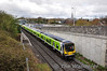29021 leads a sister unit out of Maynooth with the 1140 to Pearse. Sun 21.04.13