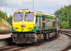 227 propells the 1300 Enterprise service out of Drogheda bound for Dublin Connolly. Sun 11.08.13