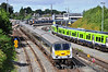 9002 leads the 1000 Belfast Central - Dublin Connolly out of Drogheda. Sun 11.08.13