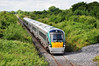 The 1310 Westport - Heuston with 22052 + 22013 pass Ballyavill as they slow for a signal check at Geashill Loop. Sat 10.08.13