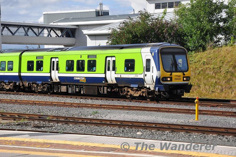 29009 at Drogheda Depot. Sun 11.08.13