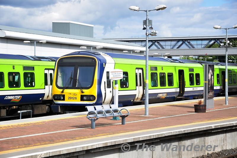 29026 stands in Drogheda's Platform 3. Sun 11.08.13
