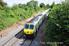 224 passes Deerpark Bridge, Portarlington. 1200 Heuston - Cork. Sat 31.08.13