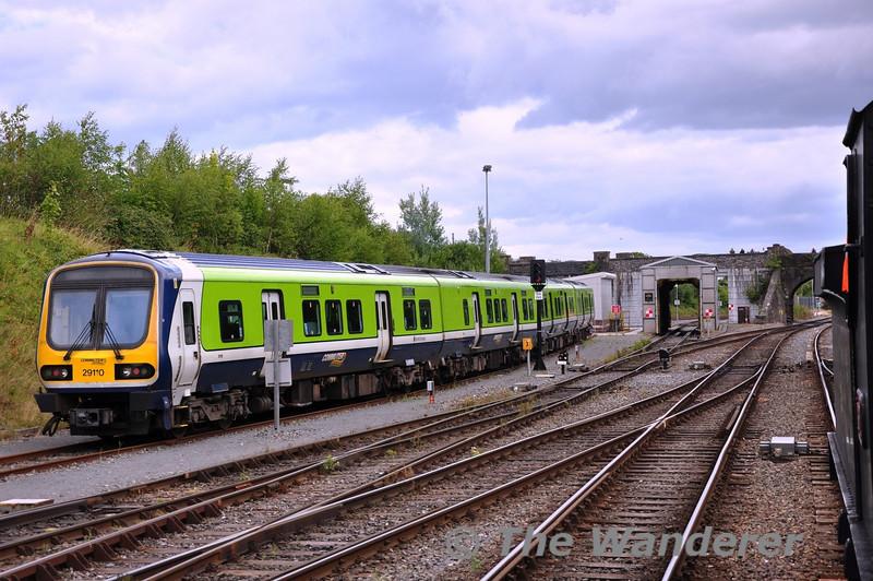 29010 stabled at Drogheda Depot. Sun 11.08.13