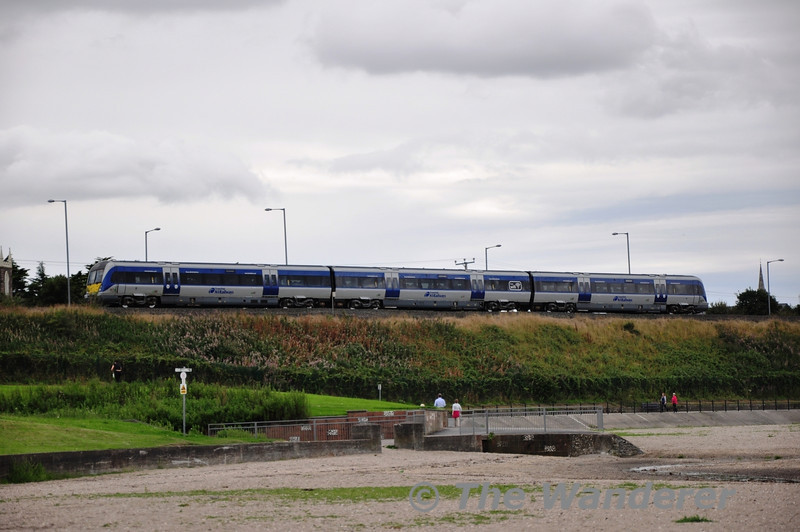 4008 at Holywood with the 1632 Great Victoria Street - Bangor. Sat 24.08.13