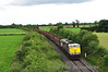 We catch up with 072 and the Westport bound timber for the final time at Cloncoher between Geashill and Tullamore. Sat 10.08.13