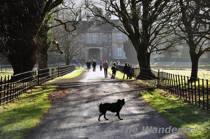 Muckross House. Killarney National Park. Wed 25.12.13
