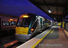 22022 stands at Heuston Platform 6 with the 1710 Heuston - Athlone. Thurs 05.12.13