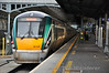 22038 at Heuston before the departure of the 1335 to Westport. Sun 15.12.13