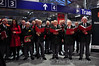 The C.I.E. Male Choir perform Christmas Carols at Heuston Station with Síle Seoige. Fri 06.12.13