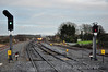 22034 passes Portarlington with the 1500 Heuston - Cork. Fri 06.12.13