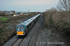 5 car 22035 brings up the rear of the 1545 Laois Depot - Heuston. Mon 16.12.13