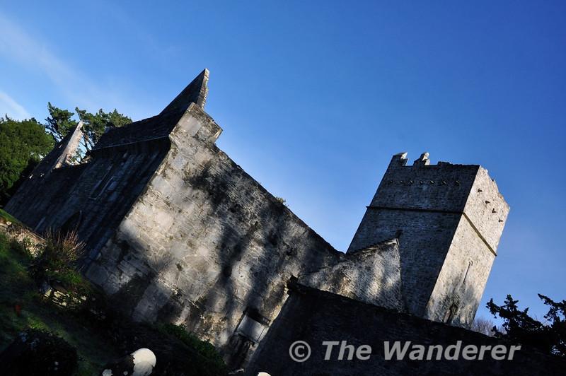 Muckross Abbey. Killarney National Park. Wed 25.12.13ki