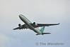 Aer Lingus A330 EI-DAA flies over Dublin for Flightfest. Sun 15.09.13