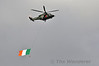The afternoons flypast was kicked off by the Irish Corps AW139 flying the Tri-Colour West to East along the River Liffey. Sun 15.09.13