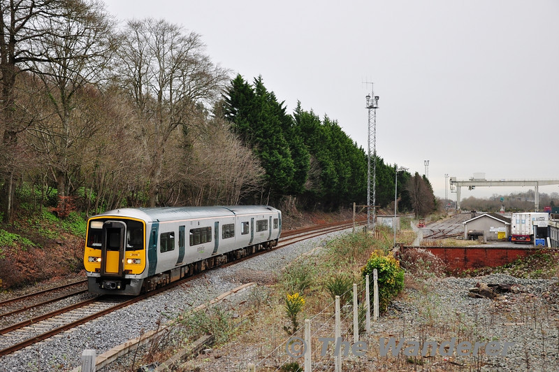 "2616 + 2605 pass the disused freight yard at North Esk with the 1345 Midleton - Cork. Tues 12.02.13<br /> <br /> Finnyus also took a photograph of this location and it may be viewed at <a href=""http://www.flickr.com/photos/finnyus/8473429727/in/photostream"">http://www.flickr.com/photos/finnyus/8473429727/in/photostream</a>"