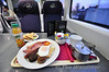 Early morning breakfast on board the 0700 Tralee - Heuston in Premier Class. Tues 12.02.13