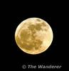 Snow moon rises over Portarlington, Co. Laois.  Mon 25.02.13