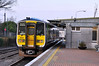 2815 + 2816 at Ballina awaiting departure of the 1655 to Manulla Jct. Sat 23.02.13