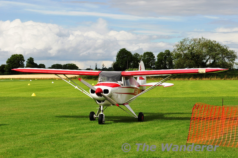 EI-BAV. FlyingInIreland & NMAI Annual Fly-In at Limetree Airfield, Emo, Co. Laois. Sat 03.08.13