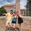 Colorado University-May 25, 2013 with Brian, Mia and Amy