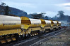 Autoballaster Wagons at Portarlington. Fri 18.01.13