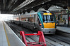 22002 waits for its next duty at Connolly the 0946 to Maynooth. Mon 14.01.13