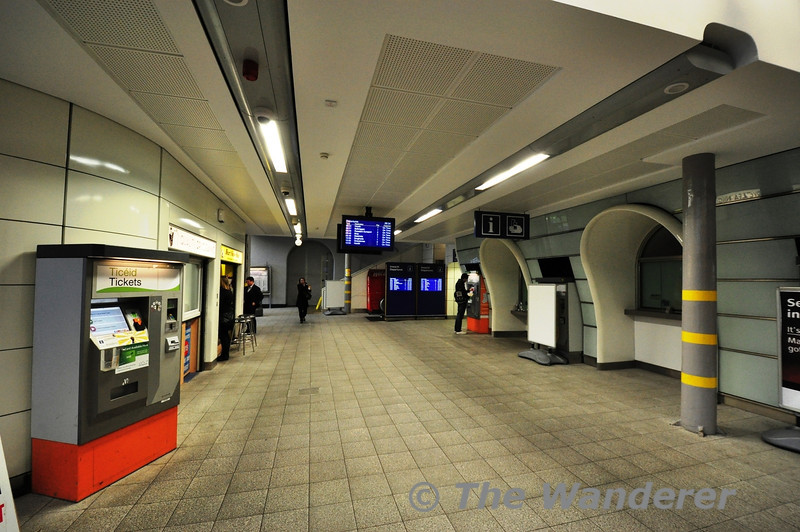 The refurbished and much improved entrance to Pearse Station. Wed 09.01.13