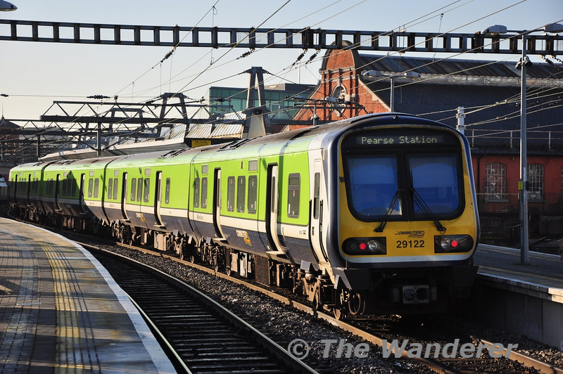 29022 1240 Maynooth - Pearse at Connolly. Wed 09.01.13
