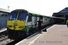 223 at Cork after arriving with the 1300 from Heuston. Thurs 18.07.13