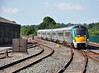 22013 + 22012 arrives into Platform 2 at Mallow with the 1500 Heuston - Cork. Fri 12.07.13