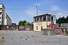 The disused Tralee Signal Cabin now presents a lonely existence without any track in front of it. Fri 12.07.13