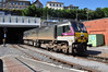 Translink NI Railways owned 209 propells the 1620 Cork - Heuston out of Cork into the 1355 yard tunnel. Sat 20.07.13