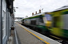 222 arrives at Portlaoise. 0700 Heuston - Cork. Wed 17.07.13