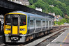 Driver Ken Fox brings 2612 + 2611 into platform 2 at Cork with the 1530 ex Cobh. Thurs 18.07.13