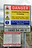 User worked Level Crossing instructions at XT22 Curraghrour West. Sat 27.07.13