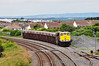 086 stands in the loop at Skerries with the 1225 Tara Mines - Alexandra Road service. This train is due to stand in Skerries Loop for 17 minutes to allow the 1235 Belfast Central - Dublin Connolly Enterprise service to overtake. Fri 28.06.13