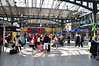 A busy concourse at Heuston Station. Thurs 06.06.13