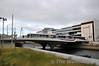 3002 crosses Mayor Street Bridge in the IFSC. Fri 28.06.13