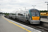 The 1620 Heuston - Portlaoise Commuter service arrives at Portarlington. Thurs 20.06.13