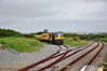 071 arrives into Rosslare Strand with the Weedspray Train from Waterford. The train would continue onto Rosslare Europort for the locomotive to run around.  Fri 14.06.13