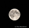 Full Moon seen from Portarlington. Co. Laois in the early hours of Monday 24th June 2013.