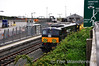 071 and the Weedspray train stabled at Rosslare Europort.  Fri 14.06.13